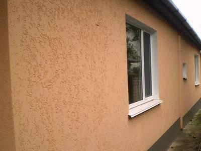 покраска дома в два цвета фото