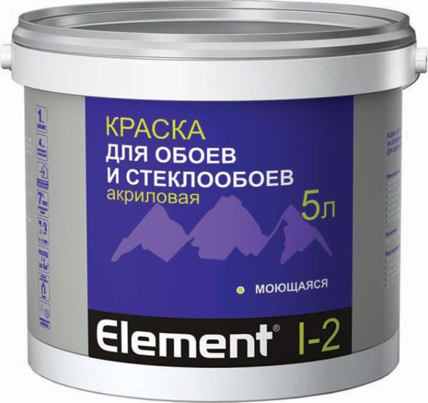 Акриловая краска для флизелиновых обоев под покраску и стеклотканевых материалов.