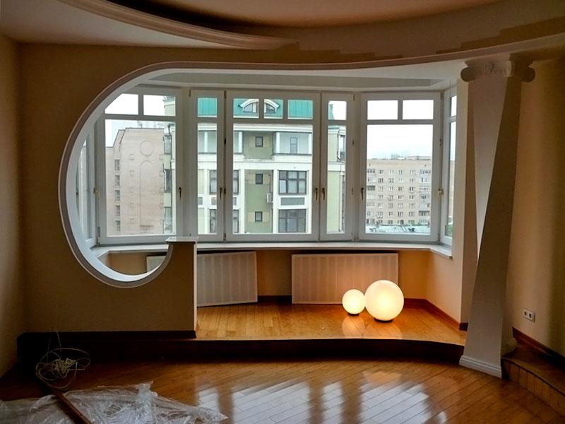 Как сделать балкон в квартире где его нет