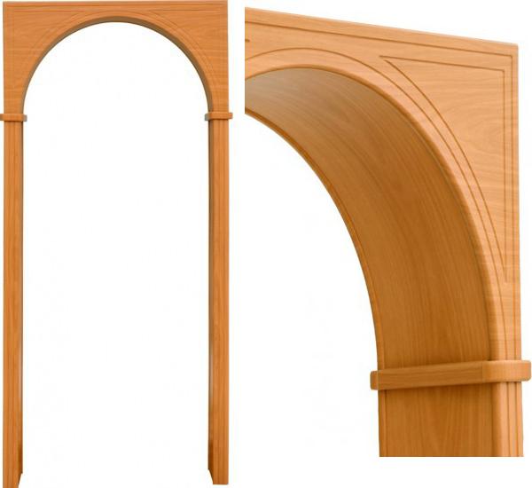 Чем отделать арку