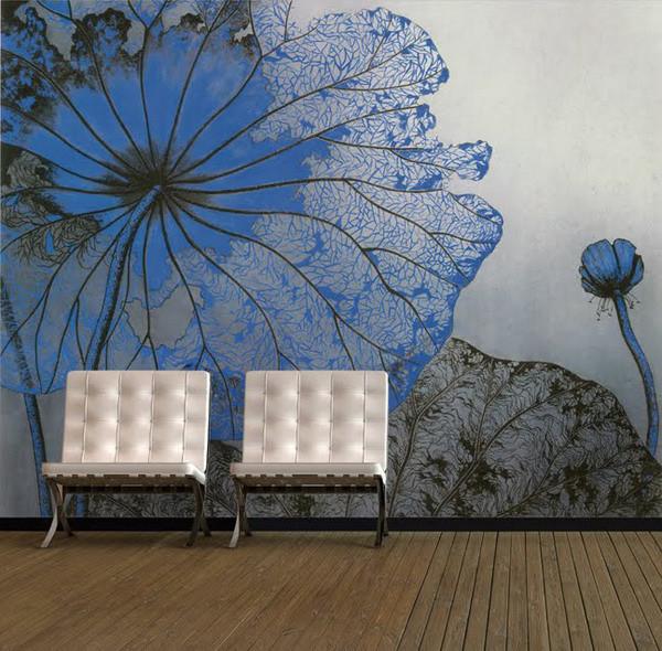 Эффектное оформление помещения габаритными цветами