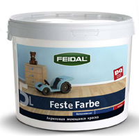FEIDAL Feste Farbe – антивандальная (для объектов с высокими механическими нагрузками)