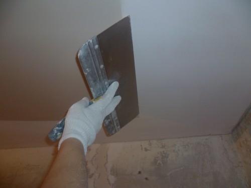 Plafond platre qui fissure brest meilleurs ouvriers de for Nettoyage plafond tendu barrisol