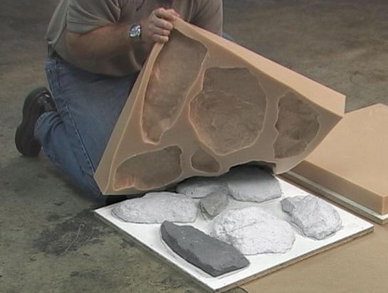 Как сделать камень декоративный