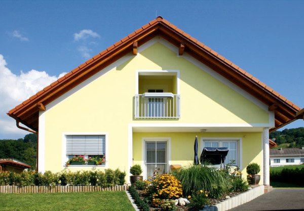 Фото окрашенного фасада: качественная работа – отличный вид!