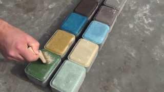 Фото разноцветной брусчатки