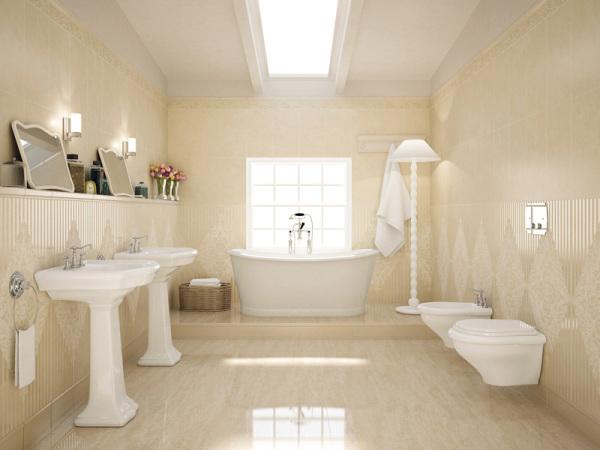 Штукатурка для ванной комнаты под плитку