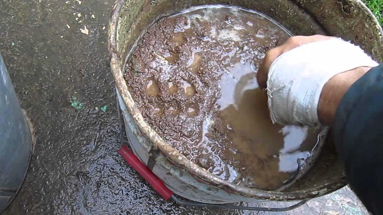 Неполный рабочий как делать раствор из глини чтобы не тресколас качества свежести яиц