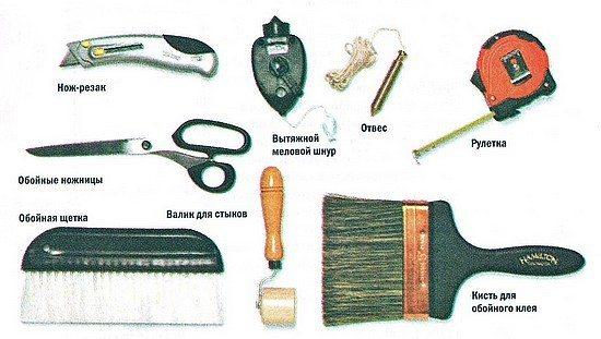 Инструменты для работы.