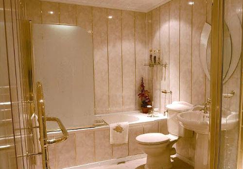 Отделываем ванную комнату своими руками
