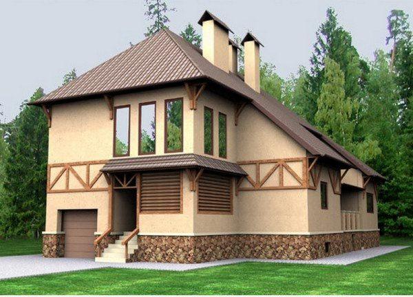 Качественная внешняя облицовка жилого дома