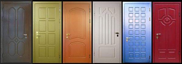 как покрасить дверь из мдф инструкция по окраске своими