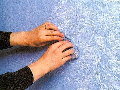 Техника нанесения красок на рисунок