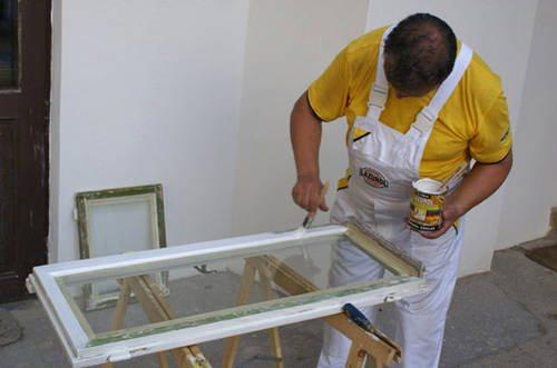 Ремонт деревянного окна своими руками