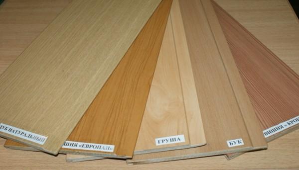 МДФ панели, имитирующие фактуру древесной поверхности