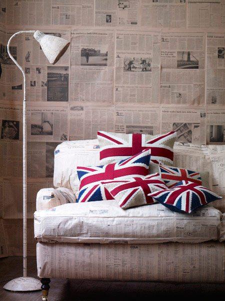 Мебель «газетной» тематики