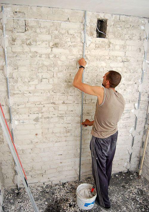 Как выровнять стены своими руками подробно 5