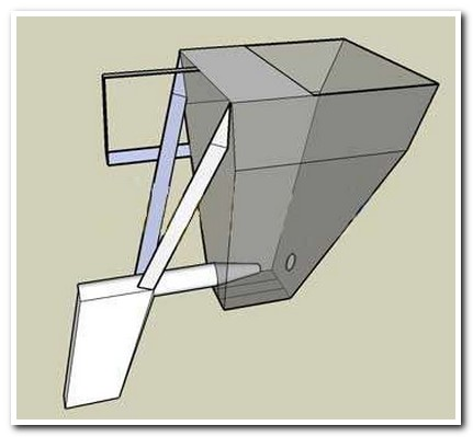 Штукатурная лопата своими руками чертежи