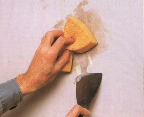 подготовка стен к обоям: