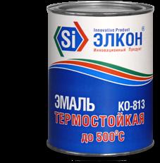 На фото - кремнийорганическая эмаль КО-813.