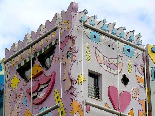 На фото - «Счастливый дом Рицци»в Брауншвейге