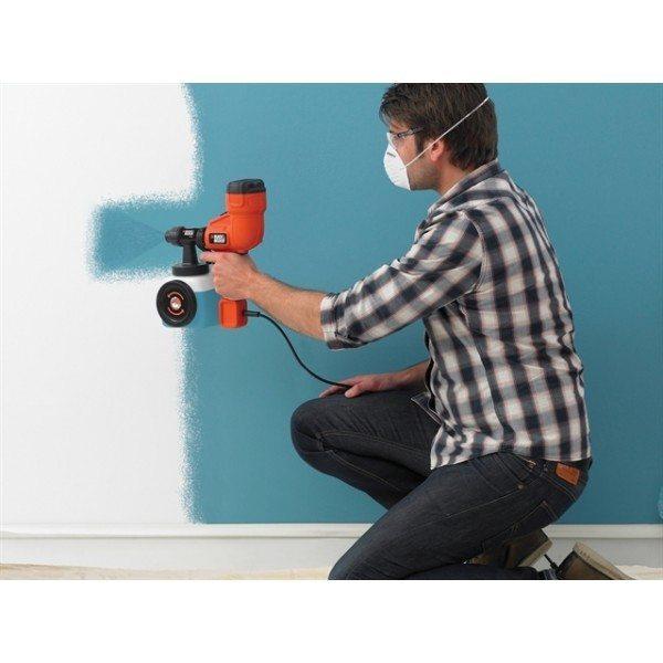 Пневматический краскопульт для водоэмульсионной краски