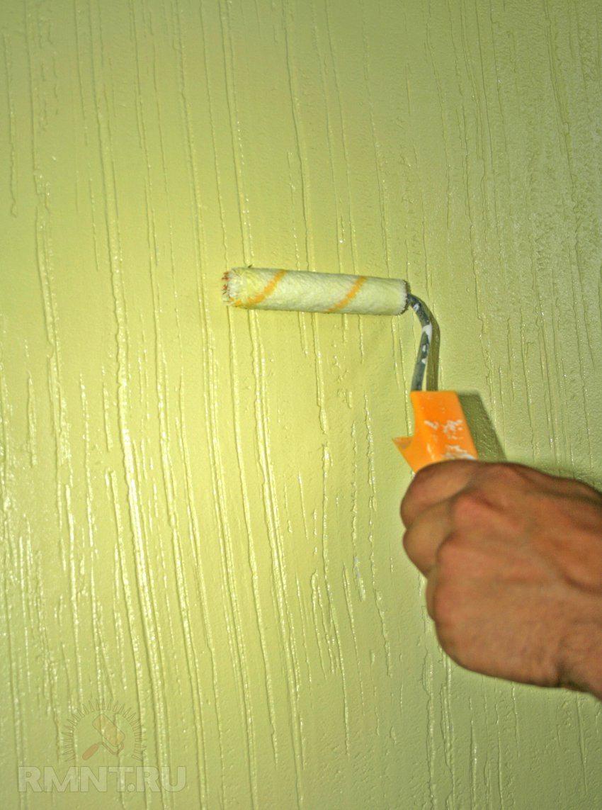 Перламутровая краска для стен своими руками