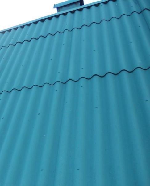 Надёжная защита шифера резиновой краской