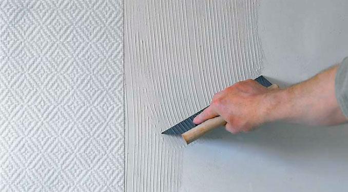 Обои флоковые для стен: инструкция по наклеиванию покрытий и.