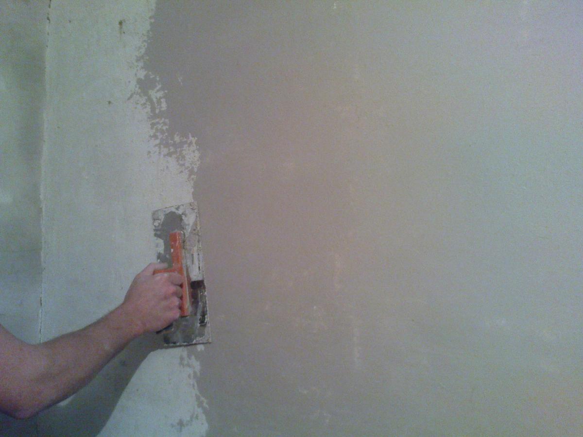 Штукатурка стен ракушняка своими руками