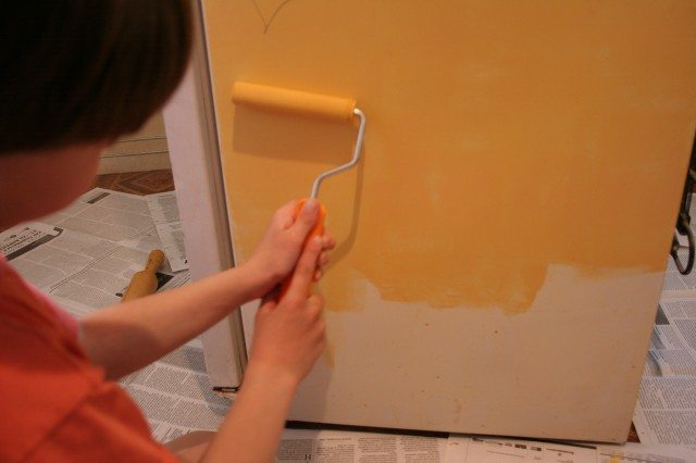 Покраска холодильников своими руками