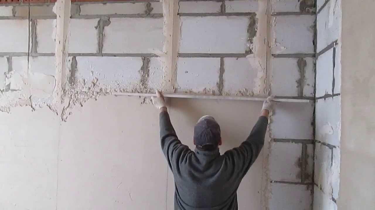 Как штукатурить стены в квартире своими руками