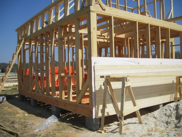 Наружная отделка каркасных домов должна производиться с учетом их структуры и особенностей конструкции.