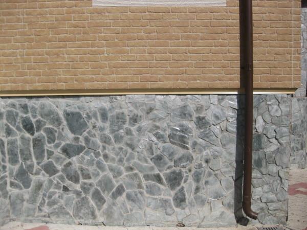 Навесные фиброцементные внешние элементы на фасаде.