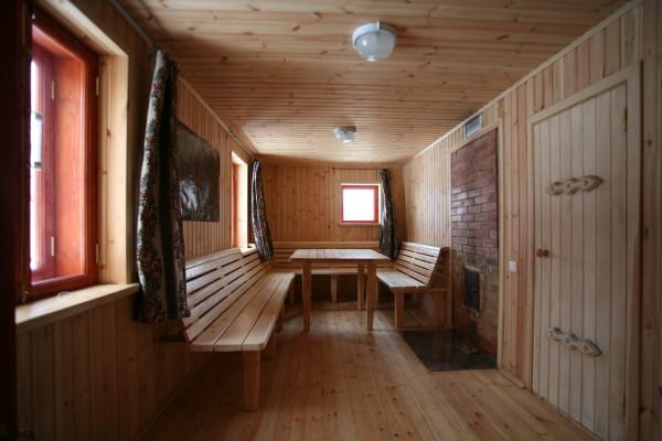 Обшивка древесной доской