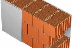 Очень простой вариант решения вопроса, чем заштукатурить балкон – обычная гипсовая в качестве грунта и далее пойдёт декоративная штукатурка, но тут, обращаем внимание, какие полые кирпичи, они в какой-то степени и обеспечивают изоляцию