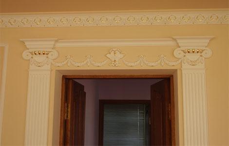 Широкий дверной проем варианты отделки