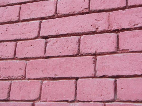 Однотонная стена