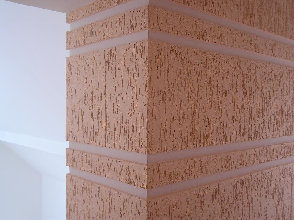 Виды отделки фасада: шуба, песчаник, планкен, мраморная крош.