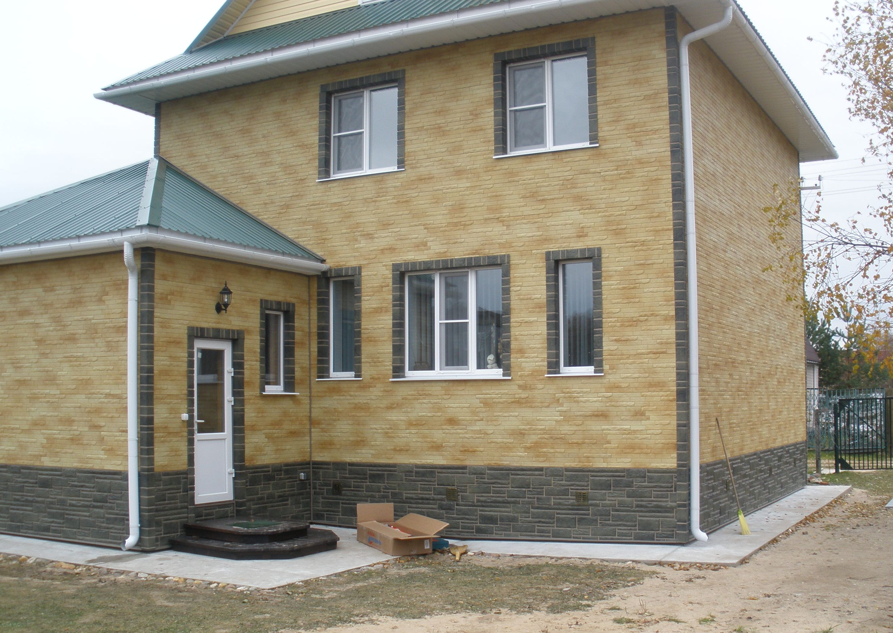 Виды отделки фасадов домов фото