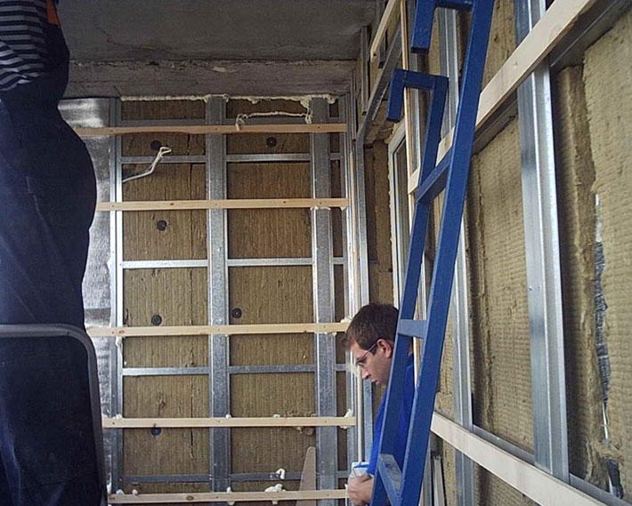 Отделка балкона-лоджии собственными силами