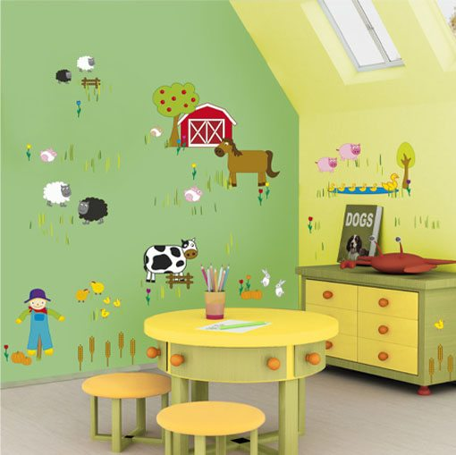 Отделка детских комнат должна быть абсолютно безопасной