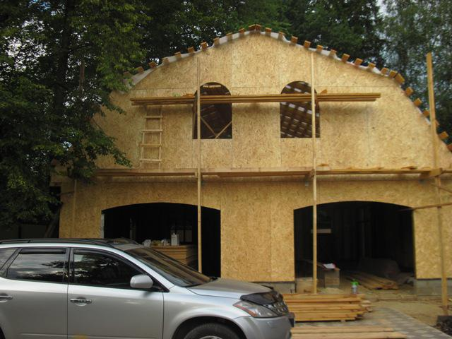 Отделка фасада из ОСП - простота монтажа при малой трудоемкости