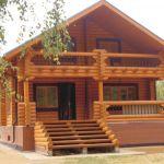Отделка веранды деревянного дома