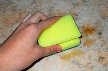 Как отмыть желтые пятна с линолеума фото