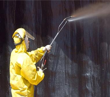 Перед началом работ в помещения подобного типа производят обработку составами с антибактериальными компонентами для предотвращения заражения грибком или плесенью