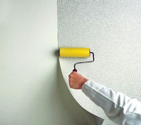 Как наносить стеклообои на стены