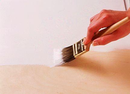 Покраска древесно-слоистой плиты