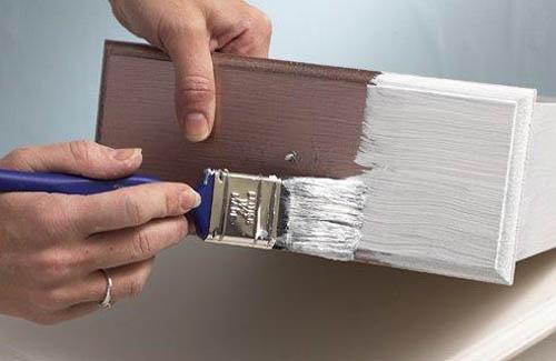 Покраска лакированной поверхности