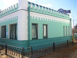 Полиуретановая внешняя отделка здания